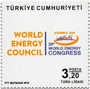 n° 3814 - Timbre TURQUIE Poste