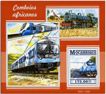 n° 980 - Timbre MOZAMBIQUE Blocs et feuillets