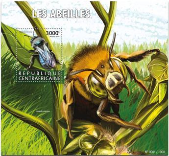 n° 914 - Timbre CENTRAFRICAINE Blocs et feuillets