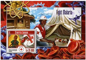n° 762 - Timbre SIERRA LEONE Blocs et feuillets