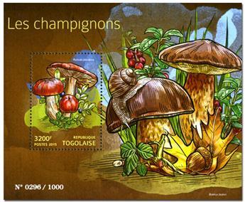 n° 1033 - Timbre TOGO  Blocs et feuillets