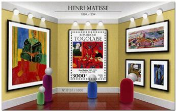 n° 1083 - Timbre TOGO  Blocs et feuillets