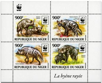 n° 3067 - Timbre NIGER Poste