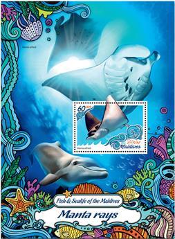 n° 982  : Timbre MALDIVES Blocs et feuillets