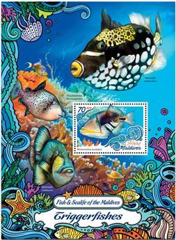 n° 987  : Timbre MALDIVES Blocs et feuillets