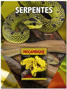 n° 1055  : Timbre MOZAMBIQUE Blocs et feuillets