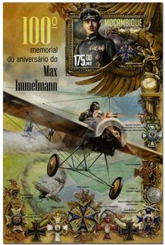 n° 1091  : Timbre MOZAMBIQUE Blocs et feuillets