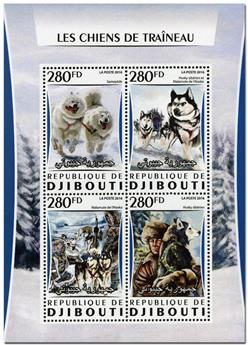 n° 1047  : Timbre DJIBOUTI Poste