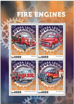 n° 5889  : Timbre SIERRA LEONE Poste