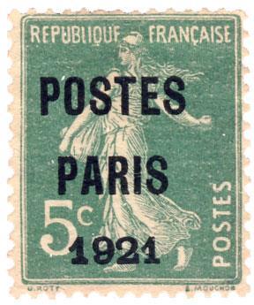 n°26(*)   - Timbre France Préoblitérés