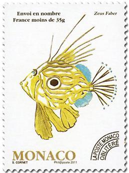 n° 115 -  Timbre Monaco Préoblitérés