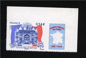 n° 117A (4032B) -  Selo França Autoadesivos