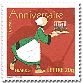 n° 52C (3778B) -  Selo França Autoadesivos