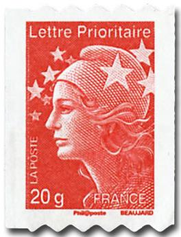 n° 599/600 -  Selo França Autoadesivos