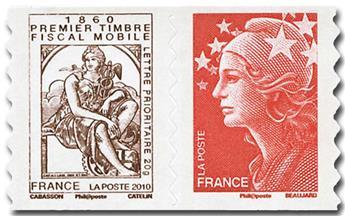 n° P507 -  Selo França Autoadesivos