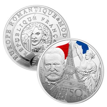 BE : 50 EUROS ARGENT - FRANCE 2017 - EUROPA