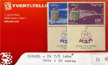 ISRAEL PA - n°7/8 tabs*