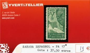 SAHARA ESPAGNOL PA - n°17*