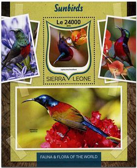 n° 1024 - Timbre SIERRA LEONE Blocs et feuillets