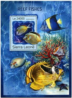 n° 1101 - Timbre SIERRA LEONE Blocs et feuillets