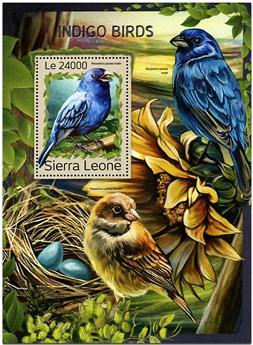 n° 1106 - Timbre SIERRA LEONE Blocs et feuillets
