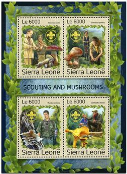 n° 6549 - Timbre SIERRA LEONE Poste