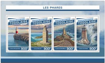 n° 5342 - Timbre TOGO  Poste