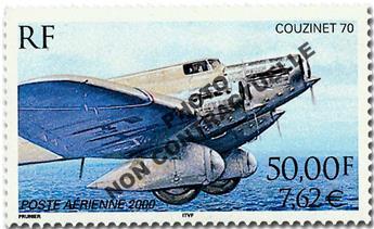 n° 64a -  Timbre France Poste aérienne