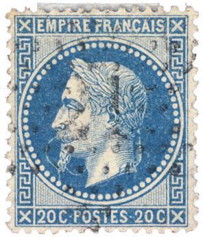 n°29A obl. TB - Timbre France Poste