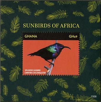 n° 532 - Timbre GHANA Blocs et feuillets