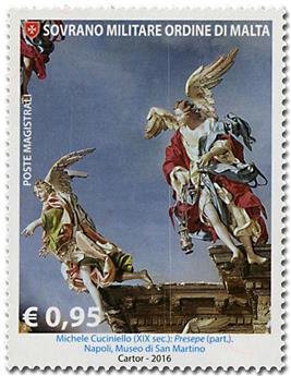 n° 1348 - Timbre ORDRE de MALTE Poste