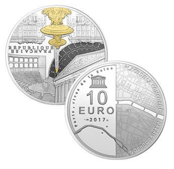 10 EUROS ARGENT - FRANCE - UNESCO BE 2017