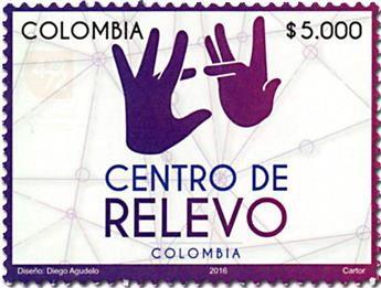 n° 1795 - Timbre COLOMBIE Poste