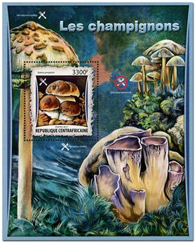 n° 1079 - Timbre CENTRAFRICAINE Blocs et feuillets