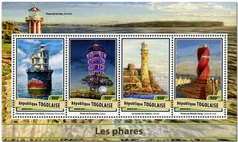 n° 5498 - Timbre TOGO  Poste