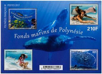 n° 46 - Timbre Polynésie Blocs et feuillets