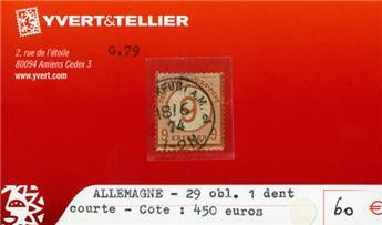ALLEMAGNE EMPIRE - n°29 obl.
