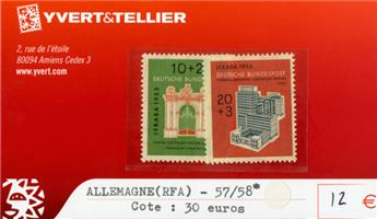 ALLEMAGNE FEDERALE - n°57/58*