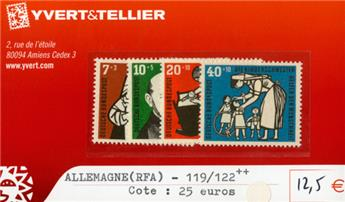 ALLEMAGNE FEDERALE - n°119/122**