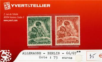 ALLEMAGNE BERLIN - n°66/67 **