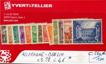 ALLEMAGNE BERLIN - n°28/46*