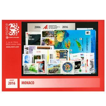 nr. 3010/3061 -  Stamp Monaco Year set (2015)