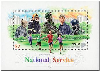 n° 188 - Timbre SINGAPOUR Blocs et feuillets