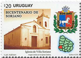 n° 2830 - Timbre URUGUAY Poste