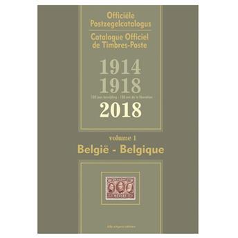 COB 2018 (Timbres de Belgique)