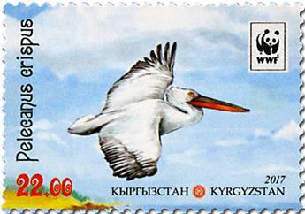 n° 727/730 - Timbre KIRGHIZISTAN (Poste Kirghize) Poste