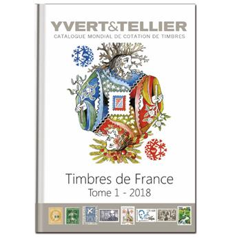 TOME 1 - 2018 Timbres de France
