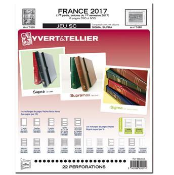 FRANCE SC : 2017 - 1ER SEMESTRE (Jeu avec pochettes)