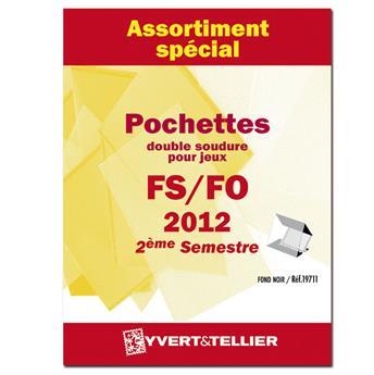 Assortiment de pochettes (double soudure) : 2012-2ème semestre