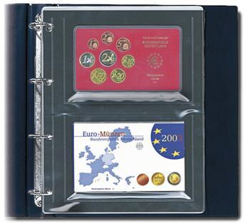 "FEUILLES ""COMPACT A4"" (SERIES EUROS) - SAFE® (x10)"